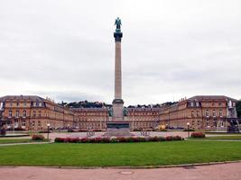 Praça do Castelo Schlossplatz em Estugarda foto