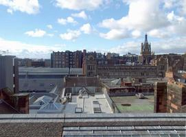 vista de glasgow, escócia foto