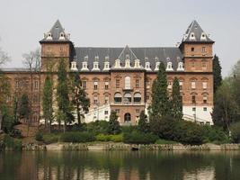 castello del valentino em turin foto