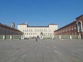 palazzo reale, turin foto