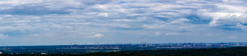 horizonte de hamburgo foto