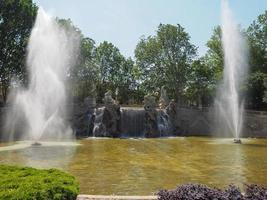 Fontana dei Mesi em Turin foto