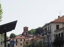 vista do antigo centro da cidade em san mauro foto