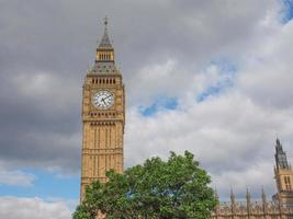 casas do parlamento em Londres foto
