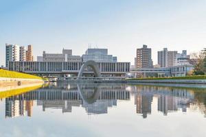 museu memorial da paz de hiroshima foto