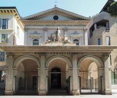 igreja santa maria della consolazione em milão foto