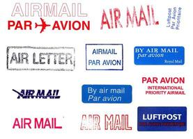 medidores de correio aéreo foto