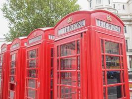 cabina telefônica de londres foto