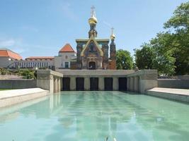 capela russa em darmstadt foto