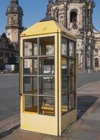 caixa de telefone em dresden foto