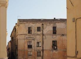 bairro castello em cagliari foto