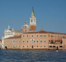 Ilha de San Giorgio em Veneza foto