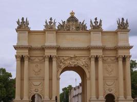 Brandenburger Tor em Potsdam Berlim foto