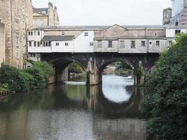 ponte pulteney em banho foto
