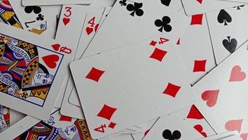 foto de cartas de jogar, fotos de quebra-cabeças