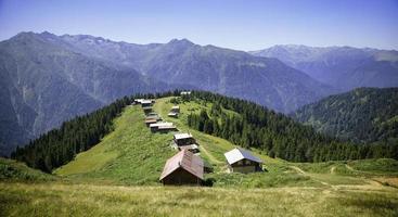 turquia, rize, planalto de pokut, paisagem natural foto