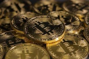 moedas criptográficas, tecnologia blockchain, bitcoin foto