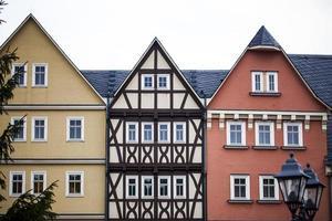 casa de fazenda com arquitetura alemã antiga foto