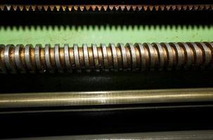 fábrica de fabricação de máquinas tecnológicas industriais foto