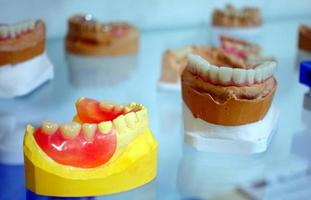placa de dente de porcelana de zircônio foto