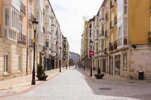 cidade de burgos, pequena cidade no norte da espanha foto