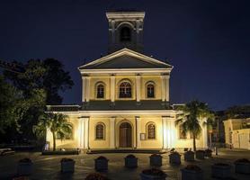 igreja de nossa senhora do carmo marco da arquitetura colonial portuguesa em taipa macau china foto
