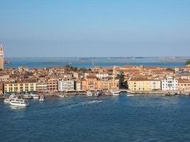 vista aérea de veneza foto