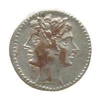 moeda romana antiga foto