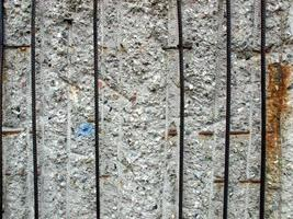 ruínas da parede de berlim foto