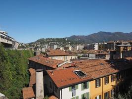 vista da cidade de como foto