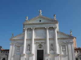 igreja de san giorgio em veneza foto