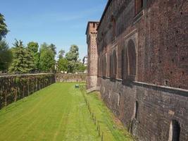 Castello Sforzesco Milão foto