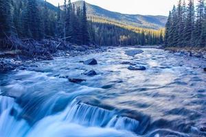 parque provincial de Sheep River, Alberta, Canadá foto