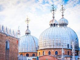 veneza, itália - st. marcar basílica foto