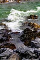água correndo pelas rochas no riacho bragg foto