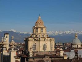 igreja de san lorenzo, turin foto