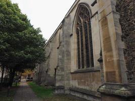 pequena igreja de st mary em cambridge foto