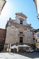 siena igreja de san martino no centro da cidade foto