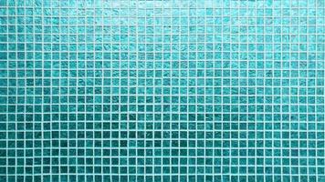 padrão de azulejos azuis com textura quadrada foto