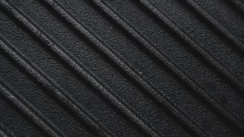 grelha de ferro fundido em bruto preto grelha fundo com nervuras foto