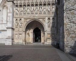 Igreja da Abadia de Westminster em Londres foto