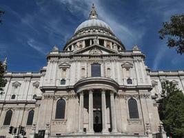 Catedral de São Paulo em Londres foto