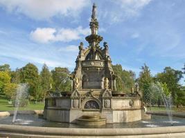 a fonte do memorial Stewart em Glasgow foto