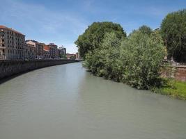 rio dora em turin foto