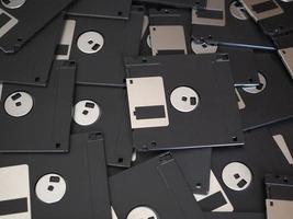 disco magnético também conhecido como disquete foto