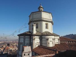 igreja monte cappuccini em turim foto
