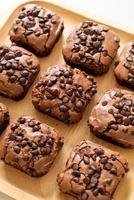 brownies de chocolate amargo foto
