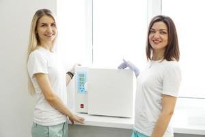 calor seco para instrumentos de esterilização foto