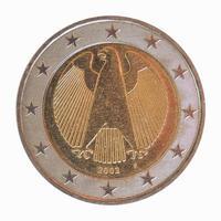 moeda de euro alemão foto