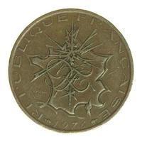 Moeda de 10 francos, frança foto
